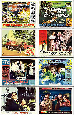 CREATURE  BODY SNATCHERS LOT Of 8 Individual SCI-FI 11x14 TC And LC Prints