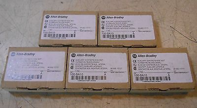 LOT OF 5: ALLEN BRADLEY Auxiliary Contacts side mount CAT# 100-SA10 Series A