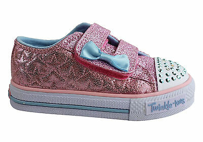New Skechers S Lights Shuffles Starlight Style Toddlers Shoes