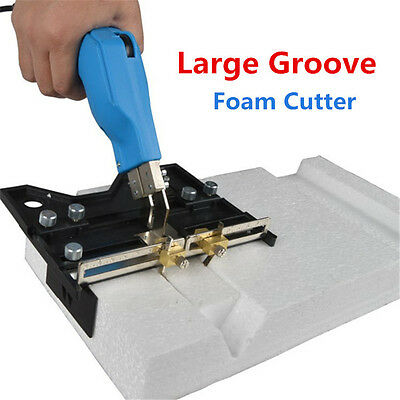 Large Groove Foam Cutter Grooving Electric Heating Cutting Slot Knife Tools