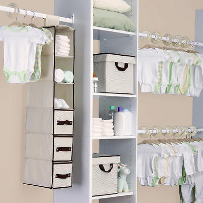 Delta Childrem 48 Piece Nursery Storage Set - Beige