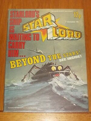 Star Lord British Weekly Comic 7Th October 1978 2000Ad^