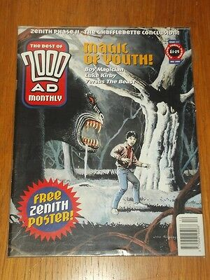 2000Ad Best Of Monthly # 111 Judge Dredd Comic With Poster