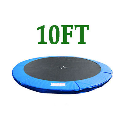 10FT Replacement Trampoline Safety Spring Cover Pad Surround Padding Blue New