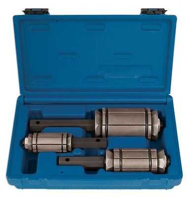 Laser 4861A Exhaust Expander Set 3 Piece Pipes Tool Garage Workshop Equipment