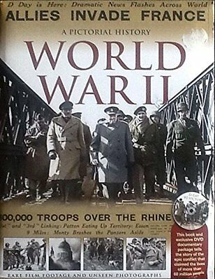 A Pictorial History of World War II, Duncan Hill, New Book