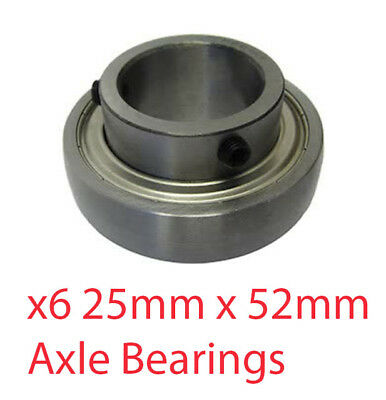 Set of 10 - 25mm x 52mm O/D Axle Bearings TonyKart Cadet