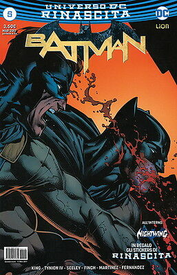 comics - BATMAN RINASCITA N. 5 - lion nuovo italiano dc
