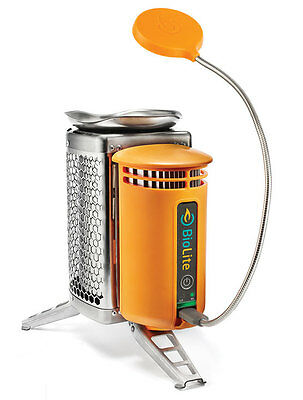 BioLite Wood Burning CampStove with USB Charger and FREE FlexLight
