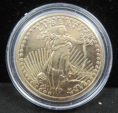 1933 Double Eagle Gold in Color Fantasy Coin - In Plastic Capsule - K210