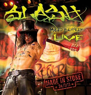 Slash - Made In Stoke 24/7/11 CD (2)  NEU