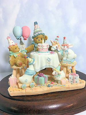 Cherished Teddies Aggie Birthday 2002 Adoption Ctr Excl NIB