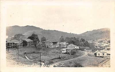 EMPIRE, CANAL ZONE, PANAMA ~ TOWN OVERVIEW, REAL PHOTO PC ~ c. 1910-20