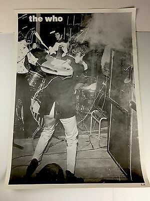 The Who Pete Townshend B&W Live Poster - BRAND NEW - 25 x 35 Rolled - Rare
