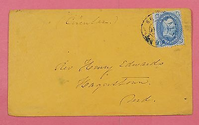 1C Blue Franklin # 63 On Cover Baltimore Maryland Md To Hagerstown