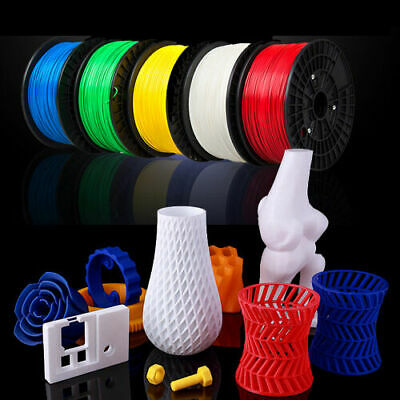 3D Printer Filament ABS PLA 1.75mm 1KG Popular Colours Aussie Stock Fast Ship