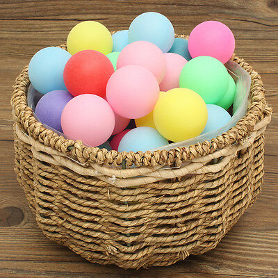 150Pcs Ping Pong Ball Beer Table Tennis Lucky Dip Gaming Lottery Washable