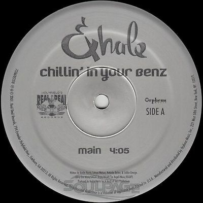 "Exhale - Chillin' In Your Benz - 12"" US NEU"