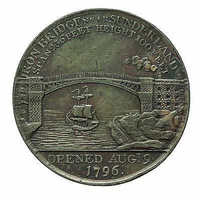 Durham Sunderland Iron Bridge Penny Token 1797