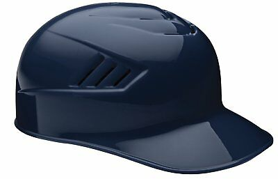 Rawlings Catcher and Base Coach CFPBHM-MN-90 L 7 3/8-7 1/2 Navy Batting Helmet