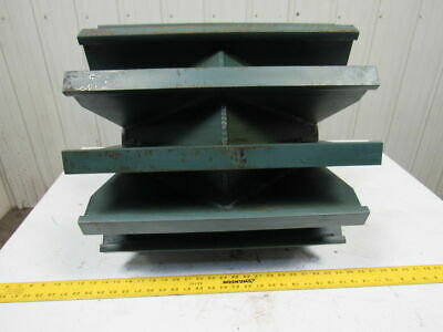 """BALDOR ? 20""""Dia.x 20""""Wide Wing Conveyor Pulley 3-7/8"""" Tapered Bore"""