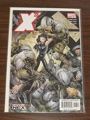 X-23 #6 Marvel Comics Wolverines Daughter Logan Movie July 2005