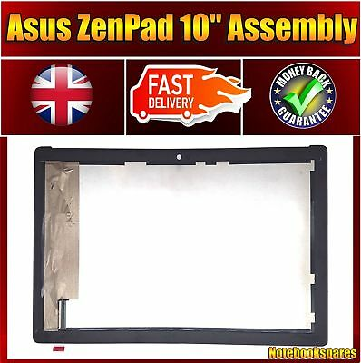 "For White Color Genuine ASUS P00C 10.1"" LCD Touch Digitizer Screen Display UK"