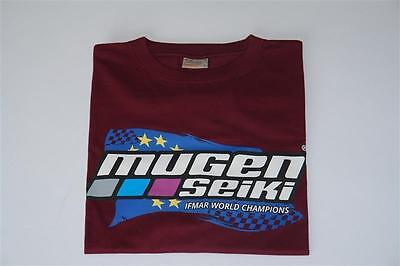 Mugen T1502 Mugen Seiki T-Shirt Bordeauxrot Gr.L Collection 2017