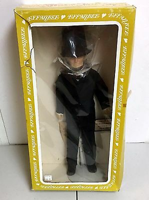 1984Vintage Abraham Lincoln Effanbee Doll #7902 The Great Emancipator NEW IN BOX