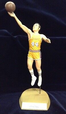 """Salvino 1991 """"Jerry West"""" Lakers Autographed Figure #304/700 *MIB*"""