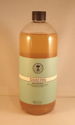 Neal's Yard Remedies Seaweed & Arnica Foaming Bath 1 Litre. BBE 03/20
