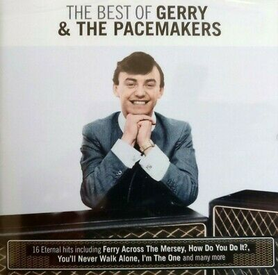 NEW & SEALED - BEST OF GERRY AND THE PACEMAKERS - Pop Beat 60's Music CD Album