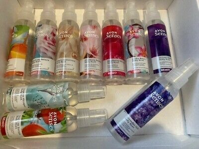 SALE 10 X MIXED BUNDLE  Avon NATURALS  SCENTED SPRITZ 100MLS EACH NEW (MAY VARY)