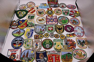 Vtg Marathon Ultra Patches European 100 KM Running Race Collectible Lot of (50)