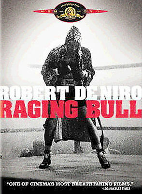 RAGING BULL Single Disc DVD Edition LN Joey you #%^*ing my wife...a classic !!