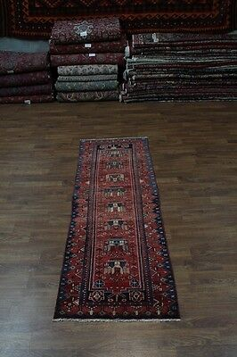 Unique Design Runner Handmade Hamedan Persian Rug Oriental Area Carpet Sale 3X9