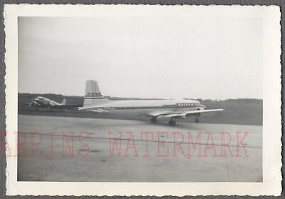 Vintage Photo Douglas DC6 Mainliner Airplane United Airlines 748321