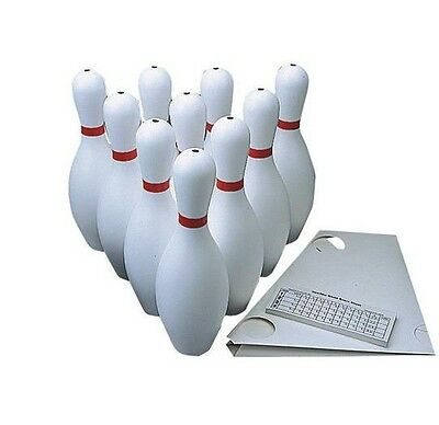 Weighted Ten Pins Bowling Pins