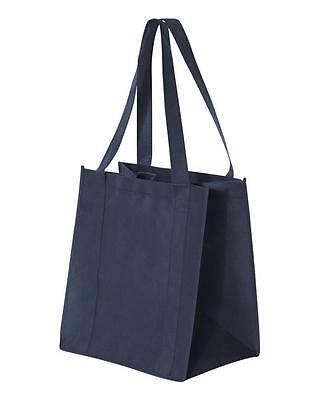 Reusable Tote Grocery Shopping Bag Eco Friendly New Navy Each