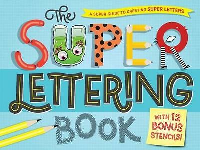 NEW The Super Lettering Book By Hardie Grant Egmont Paperback Free Shipping
