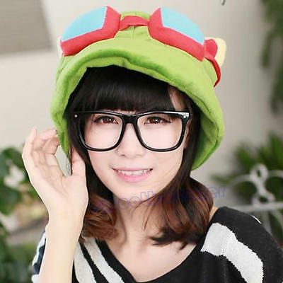 Unisex Cosplay Green League of Legends LOL Teemo Game Video Merchandise Hat