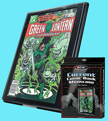 BCW CURRENT AGE Size COMIC BOOK SHOWCASE DISPLAY FRAMED Wall Mount Storage Case