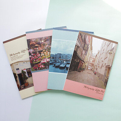 54sheets Travel Memories Photograph Letter Lined Writing Stationery Paper Pad