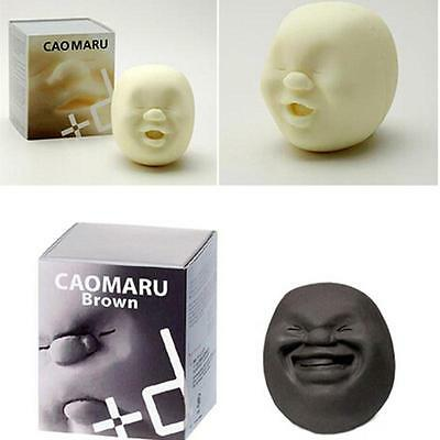 1 x Caomaru Face Ball Stress Relief Therapy Squeeze Vent stress reliever Toy SP