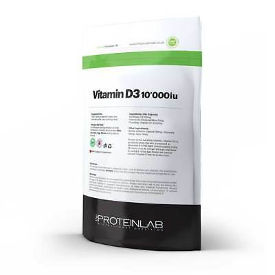 VITAMIN D3 10000iu UK MADE HIGH QUALITY SUPER STRONG  D 3 - 1000