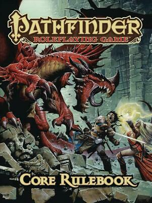 Pathfinder Roleplaying Game: Core Rulebook by Jason Bulmahn (English) Hardcover
