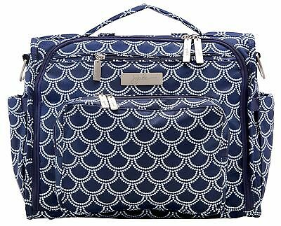 Ju Ju Be Coastal B.F.F. Baby Diaper Bag Backpack w Changing Pad Newport NEW
