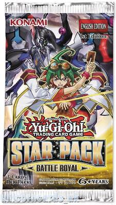 YuGiOh! Star Pack Battle Royal 1st Edition New And Sealed Booster Pack x1