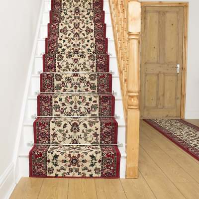 Persian Cream - Stair Carpet Runner Narrow Staircase Traditional Quality Cheap