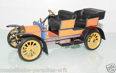Schuco Oldtimer 1229 Mercedes Simplex 32 PS Modell 1902 orange (LL4049) o.